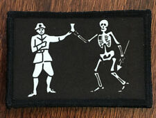 Bartholomew Roberts Pirate Flag Morale Patch Tactical Military Army USA Badge