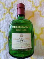 EMPTY BOTTLE Buchanan's Deluxe Blended Scotch Whisky James Buchanan & Co. 750ml