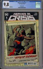 HEROES IN CRISIS #1 - CGC 9.8 - RYAN SOOK VARIANT - 1625673021