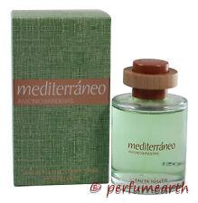 Mediterraneo Cologne by Antonio Banderas, 3.4/3.3 oz EDT Spray Men NEW