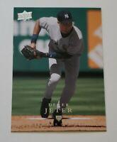 2008 Upper Deck Baseball Series 1 DEREK JETER Base Card #297 - NEW YORK YANKEES