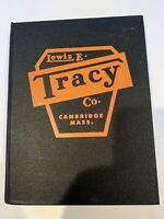 1958 Lewis E. Tracy Cambridge Mass Hardcover TOOL CATALOG & price list  book