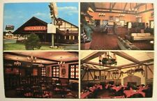 Cleveland TN Quality Court - Chalet Motel Postcard at Hwy I-75 ca 1960's