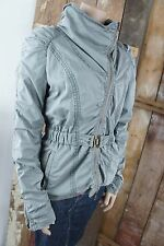 drykorn for beautiful people * Übergangsjacke * Schlamm * Asymmetrisch * Gr S/M