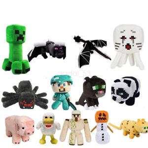 MINECRAFT Creeper Plush Teddy Toys Gifts Plush toys My world 25cm Oversized AY