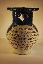 North Devon Pottery Puzzle Jug - Harry Juniper - Bideford Pottery