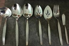 Oneida Community Silverplate 1966 Silver Sands 7 Pc Serving Pieces Set