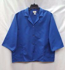 Red Kap TP31RB3 Women's 3/4 Sleeve Smock, Royal Blue, XL