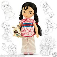 New Disney Store Mulan  Animator Collection doll 38cm tall Age 3+