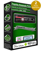 Toyota Avensis T25 Stereo-Radio, Clarion CD-Player mit USB iPod iPhone Android