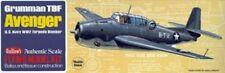 """Avenger 16.5"""" #509 Guillows Balsa Wood Model Airplane Kit"""
