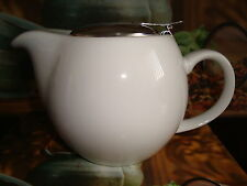 Elegant 1-2 Cup Teapot with Infuser 500ml  - White / New in Box