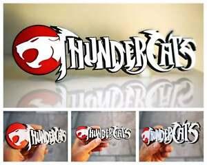 ThunderCats 3D logo / shelf display / fridge magnet - gaming collectible