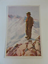 1932/33 Sanella Luis Trenker Card Film Maker The Rebel, The Prodigal Son Germany