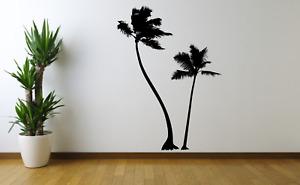 Tropical Palm Tress Wall Art Decal Sticker FL27