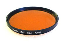 72mm VIVITAR (Tiffen) VMC 85A Warming CC Filter - Multi Coated - NEW