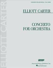 Concerto for Orchestra : Full Score, Paperback by Carter, Elliott (Cop), Bran.