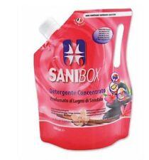 SANIBOX SANDALO 1 LITRO DETERSIVO PULIZIA AMBIENTI CON ANIMALI
