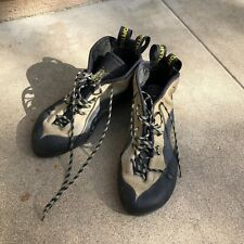 Men's La Sportiva Tc Pro Climbing Shoes Size 10.5 Us/44 Eu Sage - 1$ Auction