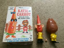 HASBRO Katie the Carrot WITH HER FRIEND  Mr. Potato Head Hasbro 2053 IN THE BOX