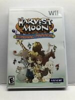 Harvest Moon: Animal Parade (Nintendo Wii, 2009) Complete w/ Manual - Tested