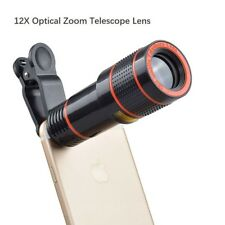 Lentes Para Samsung Gran Angular Ojo De Pez Kit 12x ZOOM Nuevo Smartphone iPhone