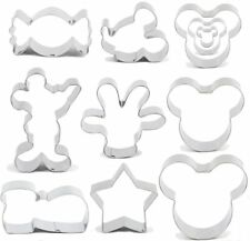 New listing BakingWorld Mouse Cookie Cutter Set - 11pcs - Mouse Head,Ears,Side Face,Hand,Sta