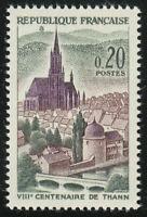 France 1961 MNH Mi 1362 Sc 1004 St. Theobald's Church, Thann **
