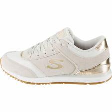 Skechers Mujer Sunlite-Revival Zapatillas Blanco / Oro