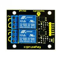 Keyestudio Dual Relay Shield Module Board for  Compatible Video PDF