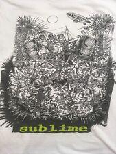 New listing 1990s Rare Sublime Skunk Records Long Beach Cali Tee Shirt Small