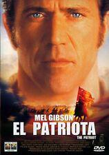 EL PATRIOTA. dvd.
