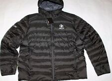 New Ralph Lauren RLX Quilted Down Puffer Packable Jacket Hooded Coat Black $275