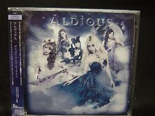 ALDIOUS Dazed And Delight JAPAN CD + DVD  Raglaia Galmet Crying Machine Manipul