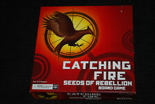 Catching Fire Seeds of Rebellion Board Game - Rare OOP Wizkids NECA - 2013