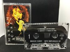 Mariah Carey MTV Unplugged EP (Columbia 1992) MC Kassette Audio Cassette Tape