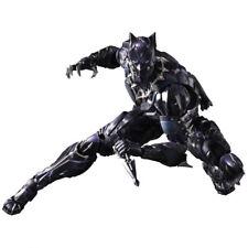 "11"" Square Enix Play Arts Kai MArvel UNIVERSE BLACK PANTHER Action Figure no box"