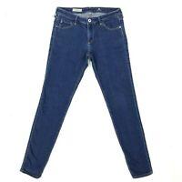AG Adriano Goldschmied 30R The Legging Super Skinny Dark Wash Jeans Jeggings