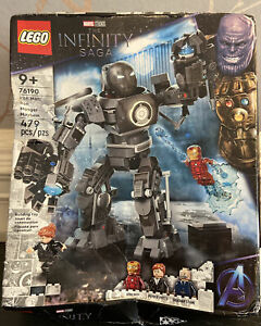 LEGO Marvel Iron Man (Iron Monger Mayhem) Building Set 76190 Damaged Box See Pic