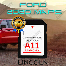 LATEST A11 2020 MAP SYNC UPDATE Navigation SD CARD UPDATES FITS ALL FORD LINCOLN