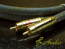 Hi-End Screened and Sheathed RCA Analogue Audio Cable