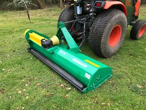Tractor Mounted  Flail Mower Topper 1.75m . Off Set.  £1549 inc VAT and Delivery