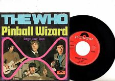 THE WHO  7'' PS Pinball Wizard GERMANY Polydor 59 262 NICE CONDITION Germany 45