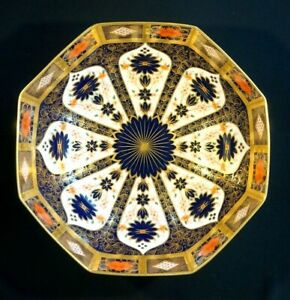 Stunning Royal Crown Derby Old Imari 1128, 1st Quality Large Salad Bowl
