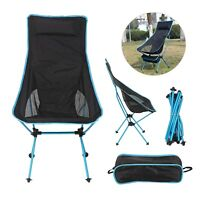 UK Lightweight Chair Folding Chair Camping Chair Portable Outdoor Fishing Seat S