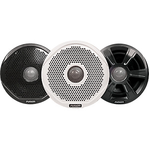 """Fusion MS-FR6022 6"""" Speakers w/ 3 Grilles 010-01848-00"""