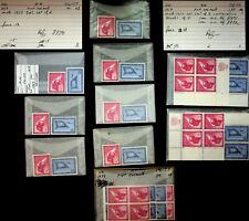 UNITED NATIONS 1959 AIRMAIL ISSUE AIRPLANE FLAG FINE MNH COLL.