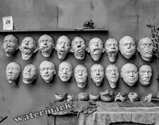 Photograph of WWI Soldiers Medical Mutilated Face Masks by Ladd Year 1918  11x14