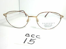 Vtg 1990s Nos GEOFFREY BEENE Eyeglass Frame GB1133 Round (BCC-15)