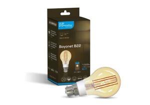 Filament LED Smart Light Bulb 5.5W B22 WiFi App Control with Alexa and Google